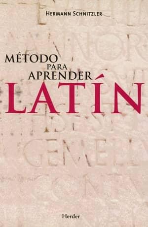portada del libro método para aprender latín
