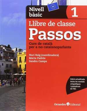 portada del libro passos 1. Llibre de classe