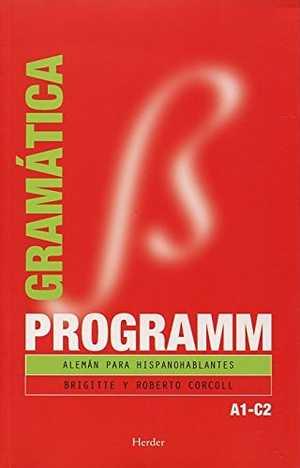 portada del libro de alemán programm gramatica A1-C2