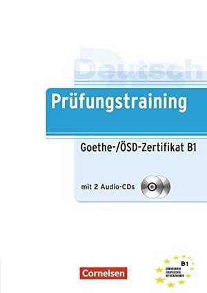 Portada del libro prüfungstraining: goethe-zertifikat B1