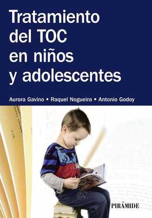 portada del libro tratamiento del toc en niños y adolescentes
