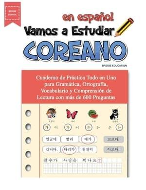portada del libro vamos a estudiar coreano