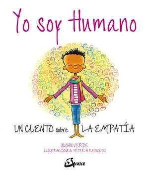 portada del libro yo soy humano un cuento sobre la empatía