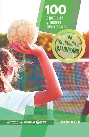 portada del libro 100 ejercicios y juegos de balonmano
