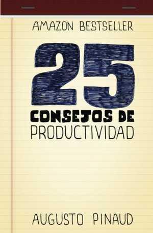 portada del libro 25 consejos de productividad