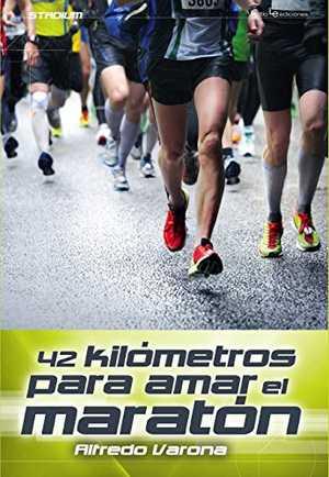 portada del libro 42 libros para amar el maratón