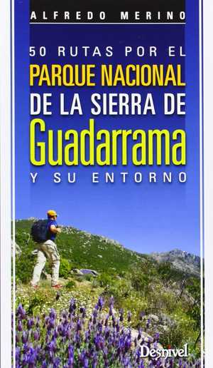 portada del libro 50 rutas por el parque nacional de la sierra de Guadarrama y su entorno