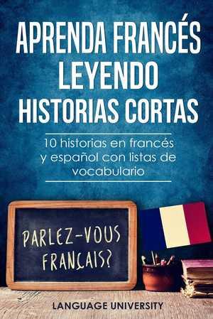 portada del libro aprenda francés leyendo historias cortas