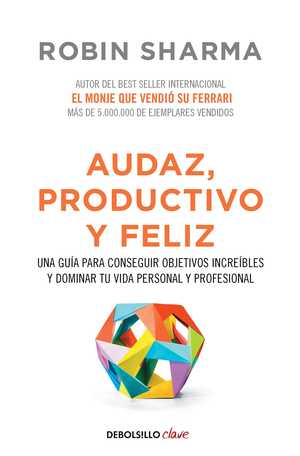 portada del libro audaz, productivo y feliz