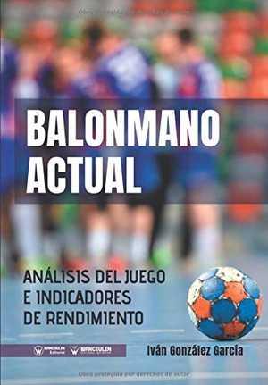 portada del libro balonmano actual