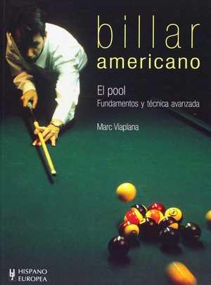 portada del libro billar americano