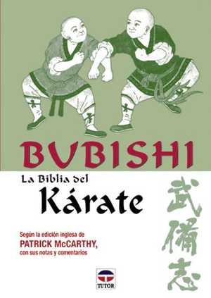 portada del libro bubishi la biblia del karate