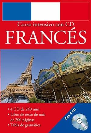 portada del libro curso intensivo de francés