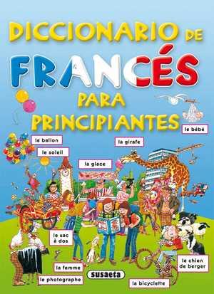 portada del libro diccionario de francés para principiantes