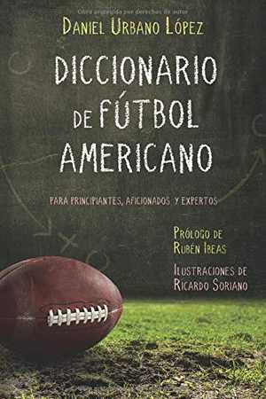 portada del libro diccionario de fútbol americano