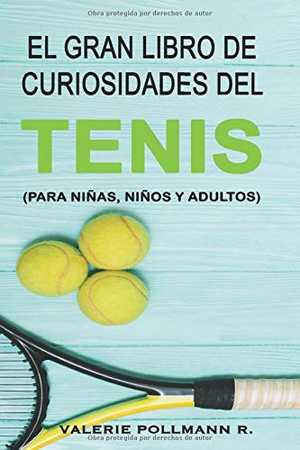 portada del libro el gran libro de curiosidades del tenis