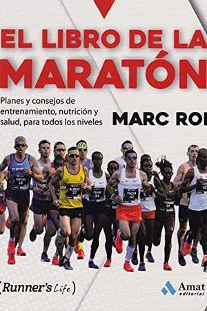 portada del libro libro de la maratón