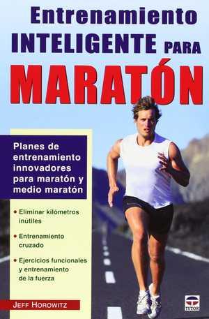 portada del libro entrenamiento inteligente para maratón