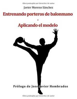 portada del libro entrenando porteros de balonmano