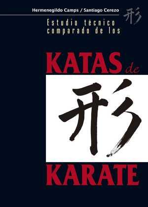 portada del libro estudio tecnico comparado de las katas de karate