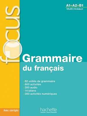 portada del libro focus grammaire du français