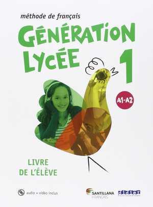 portada del libro generation lycée 1