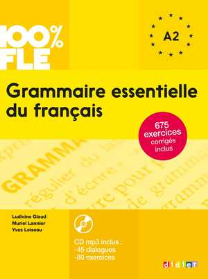 portada del libro grammaire essentielle du français