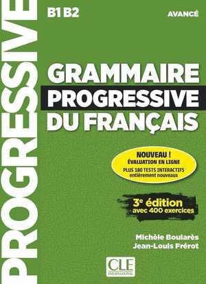 portada del libro grammaire progressive du francais