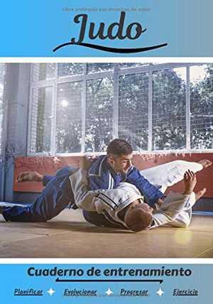 portada del libro cuaderno de entrenamiento de judo
