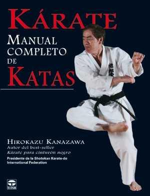 portada del libro kárate manual completo de katas