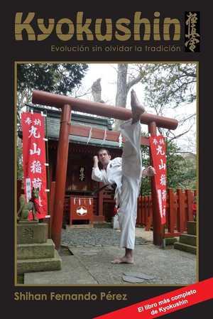 portada del libro kyokushin evolución sin olvidar la tradición