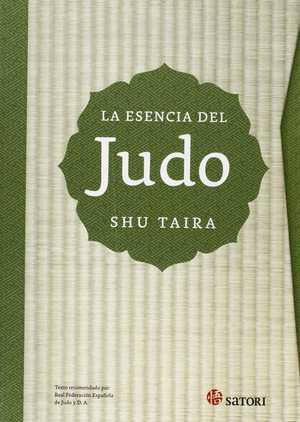 portada del libro la esencia del judo