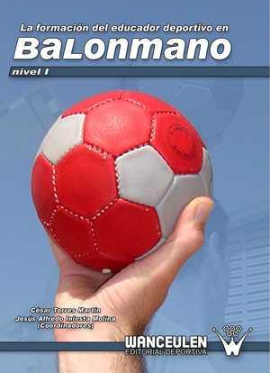portada del libro la formación del educador deportivo en balonmano