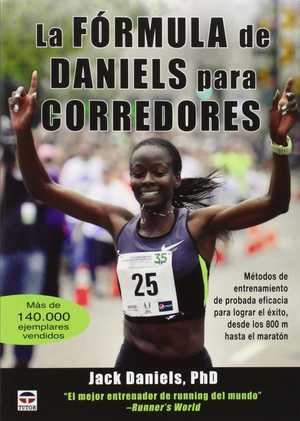 portada del libro la fórmula de daniels para corredores