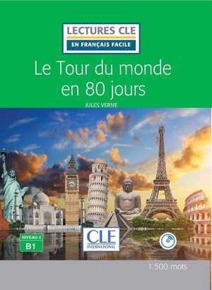 portada del libro le tour du monde en 80 jours