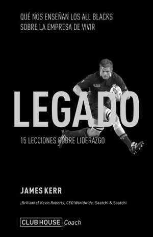 portada del libro legado 15 lecciones sobre liderazgo