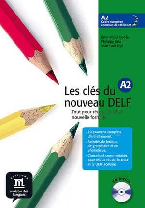 portada del libro les cles du nouveau delf A2