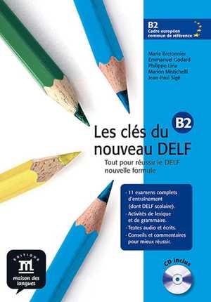 portada del libro les cles du nouveau delf b2