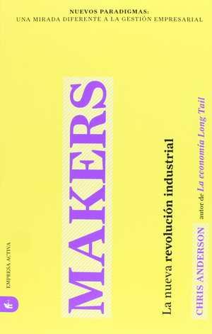 portada del libro makers la nueva revolución industrial