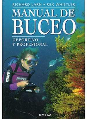 portada del libro manual de buceo deportivo y profesional