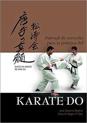 portada del libro manual de consulta para la práctica del kárate-do