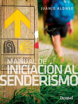 portada del libro manual de iniciación al senderismo