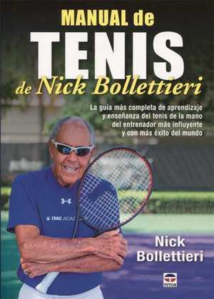 portada del libro manual de tenis de Nick Bollettieri