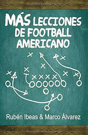 portada del libro mas lecciones de football americano