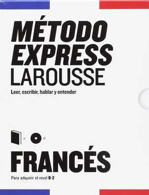 portada del libro método express larousse francés