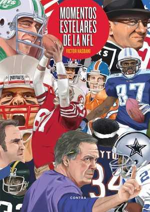 portada del libro momentos estelares de la NFL