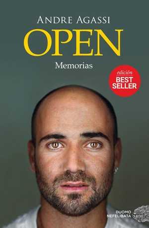 portada del libro open memorias