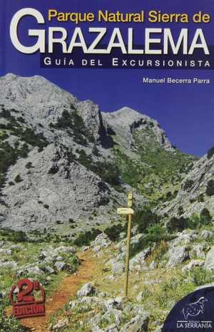 portada del libro parque natural sierra de Grazalema guía del excursionista
