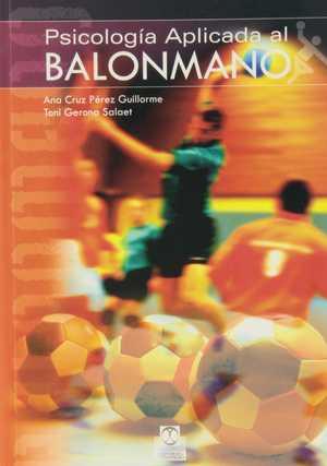 portada del libro psicologia aplicada al balonmano