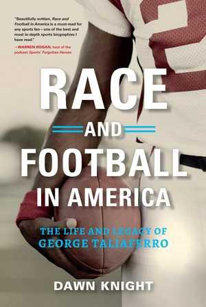 portada del libro race and football en america